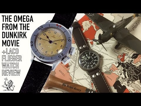 Watches Of The Dunkirk & The Battle Of Britain Movies - Omega CK2129 & Laco Friedrichshafen Review