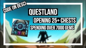 Questland - OPENING 25+ CHESTS (SPENT 7000+ GEMS!) (ETERNAL CHESTS!)