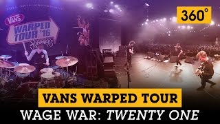 wage war twenty one in 360° at full sail university