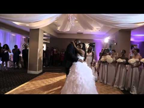 Now This Bride Knows How to Turn Her Wedding Up!