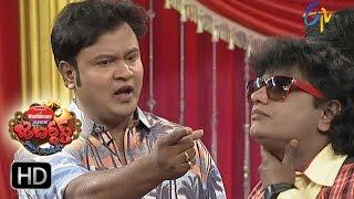 Bullet Bhaskar Sunami Sudhakar Performance | Jabardasth | 1st December 2016| ETV  Telugu