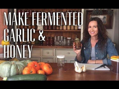 Make Fermented Garlic and Honey
