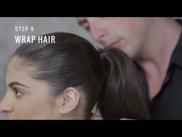 Big Teased Ponytail Hair Tutorial by TRESemmé Style Studio Travel Video