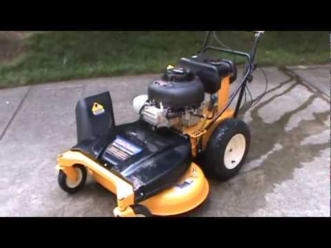 """Review of the 33"""" Cub Cadet CC 760 Wide Area Mower"""