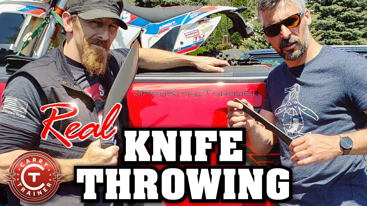 Real Knife Throwing with a World Champion | Episode #75