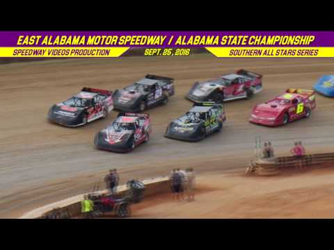 RacersEdge Tv | Southern All Stars | East Alabama Motor Speedway | Sept  25 , 2016