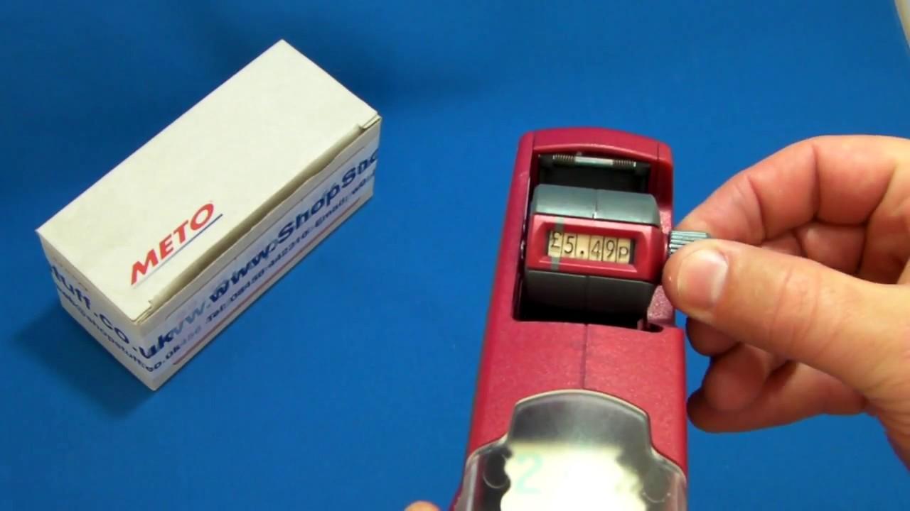 meto price gun repair manual