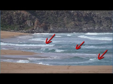 beach fishing how to spot beach gutters youtube