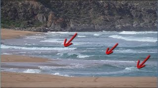 Beach Fishing - How to spot beach gutters
