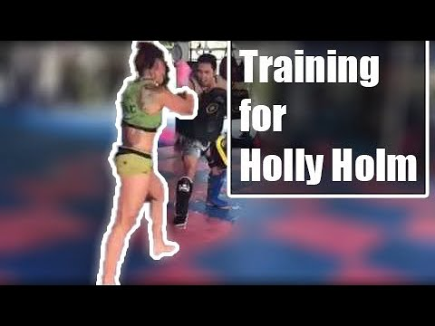 UFC 219 Cris Cyborg training for Holly Holm @phukettopteam