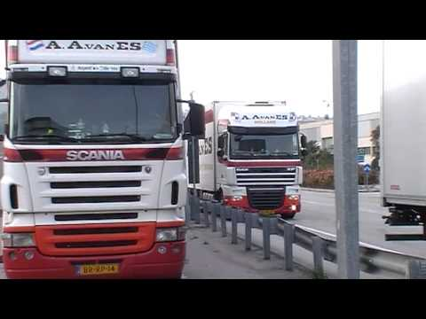 Crossing northern Greece with Volvo-FH Truck (Part 1)