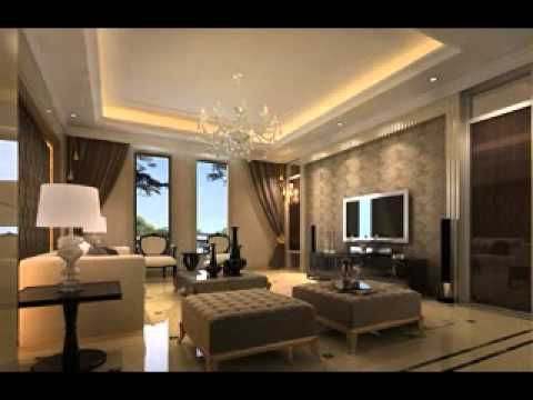 Ceiling ideas for living room design youtube for Ceiling lights for living room philippines