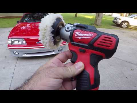 DO YOU EVEN BUFF BRO? Milwaukee M12 Polisher Is A Great Addition To Your Polishing Arsenal!