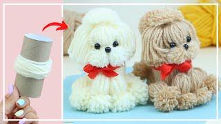 El perro de lana más lindo  Cómo hacer  DIY NataliDoma