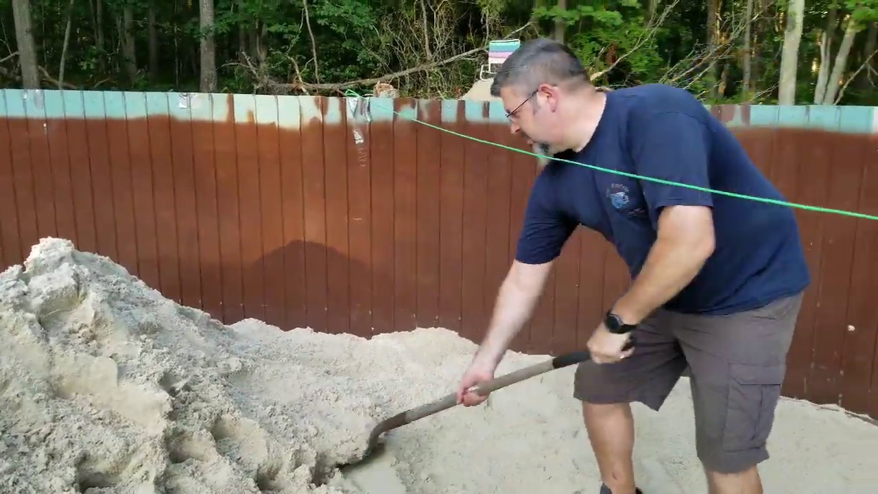 Install above ground swimming pool, Do it yourself, Ester Williams pool  $save$ Part 2