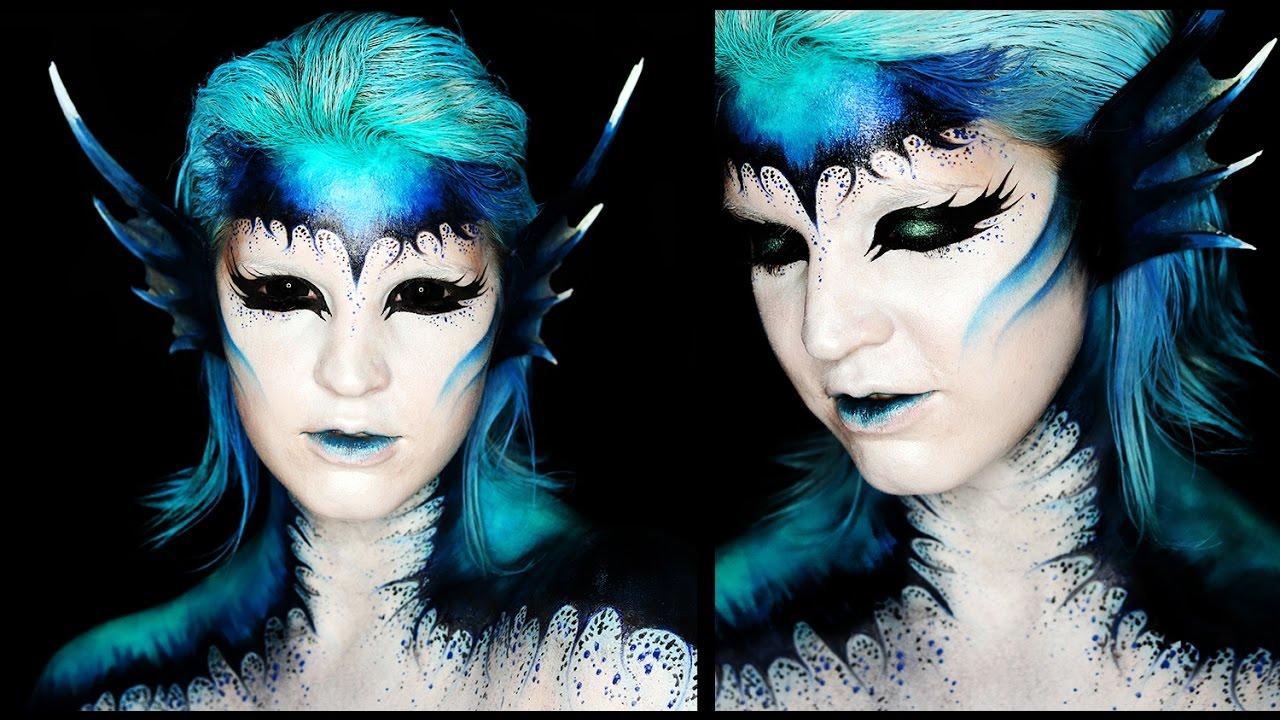 2019 year style- Mermaid Dark makeup