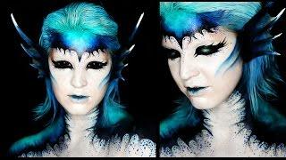 Dark Mermaid Makeup Tutorial | Siren | 31 Days of Halloween