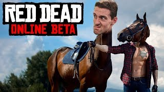 Tie Me Up and Ride - Red Dead Online Gameplay
