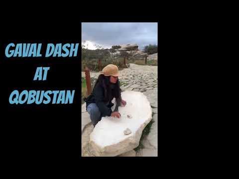 Musical Stone - Gaval Dash in Gobustan Azerbaijan