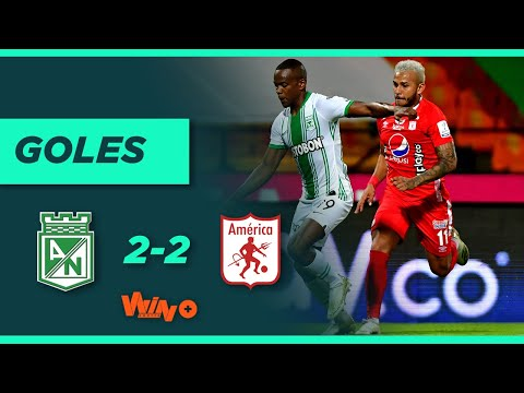 Nacional vs América (2-2) Liga BetPlay Dimayor 2020 | Fecha 15