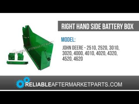 hqdefault 215 ar26618 john deere battery box rh 2510 2520 3010 3020 4010