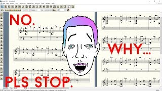 FINALE 2011 is a BUGGY NIGHTMARE (Ableton MIDI Dump)