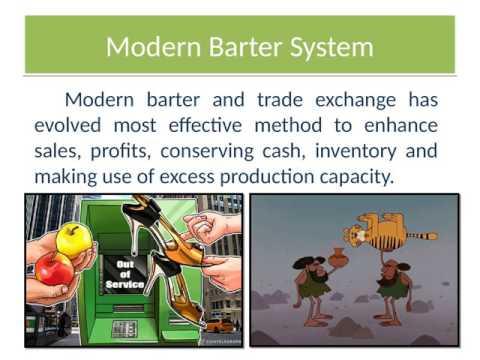 Barter System online