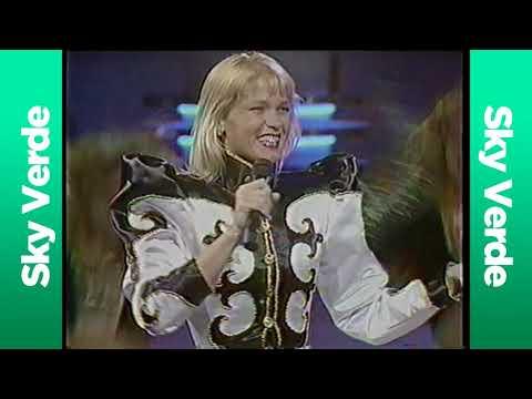 Xuxa en el Festival OTI 1989