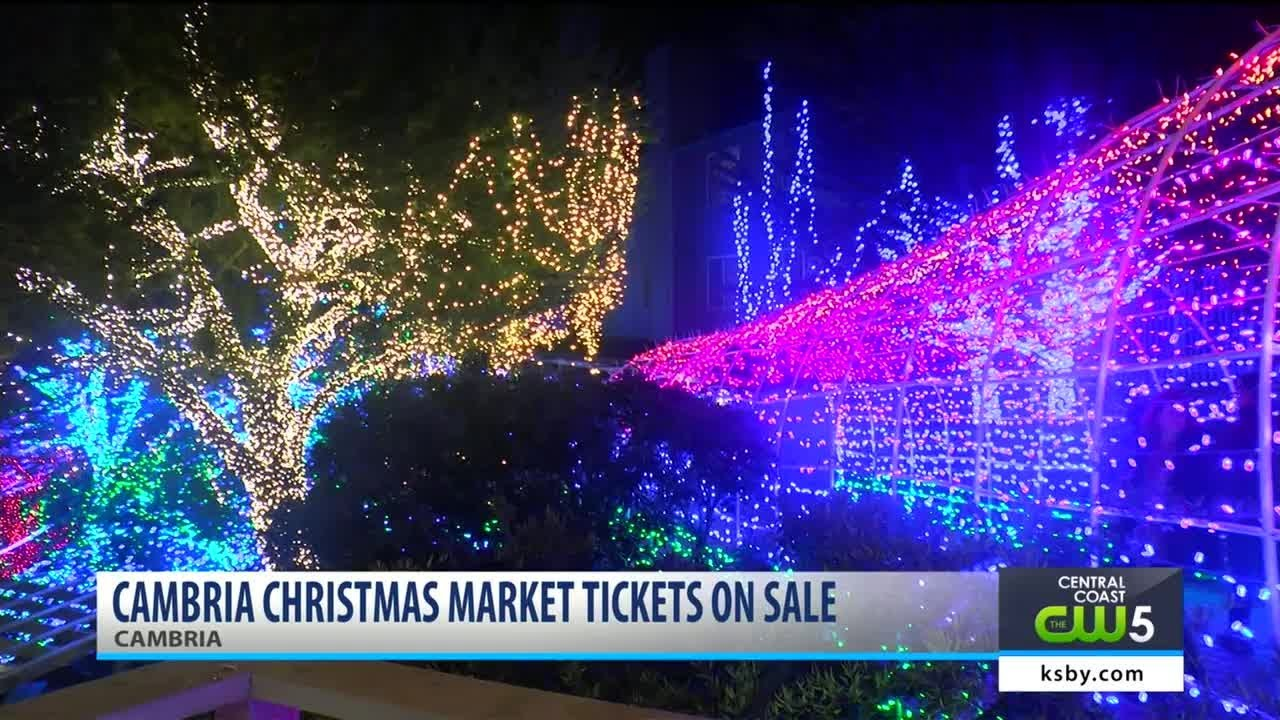Cambria Christmas Market is 7 months