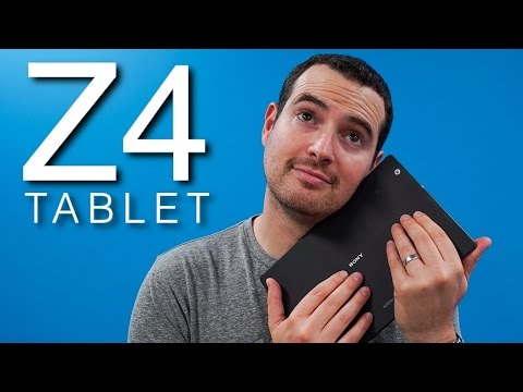 Xperia Z4 Tablet Review - I LOVE this tablet!