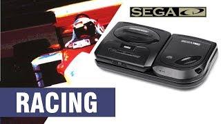 All SEGA CD / Mega CD Racing Games Compilation - Every Game (US/EU/JP/BR)