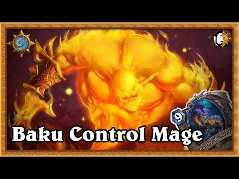 Hearthstone: Control Odd Baku Mage