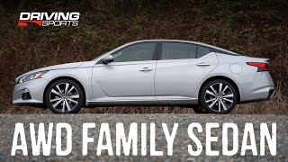 2019 Nissan Altima AWD Review vs. Honda Accord, Toyota Camry #drivingsportstv