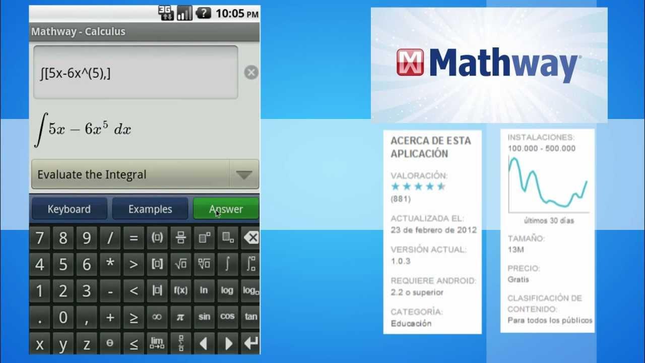 MathWay, tu asistente matemático - YouTube