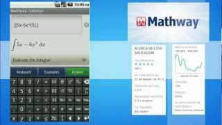 MathWay, tu asistente matemático