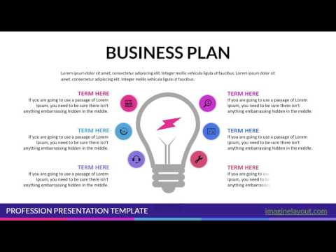 Business Plan PowerPoint charts templates