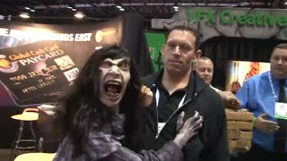 vfx creative studios puppets and wireless sounds at iaapa 2014