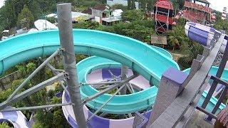 Timo Rider Water Slide at Jogja Bay Waterpark