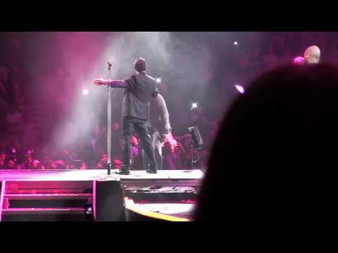 Aventura Y And Marc Anthony Aguanile At The Final Tour Madison Square Garden Msg 1 20 10