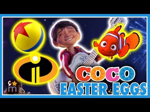13 Disney•Pixar's COCO Movie Easter Eggs Revealed! (Nemo, Incredibles 2, Toy Story) | The Lineup