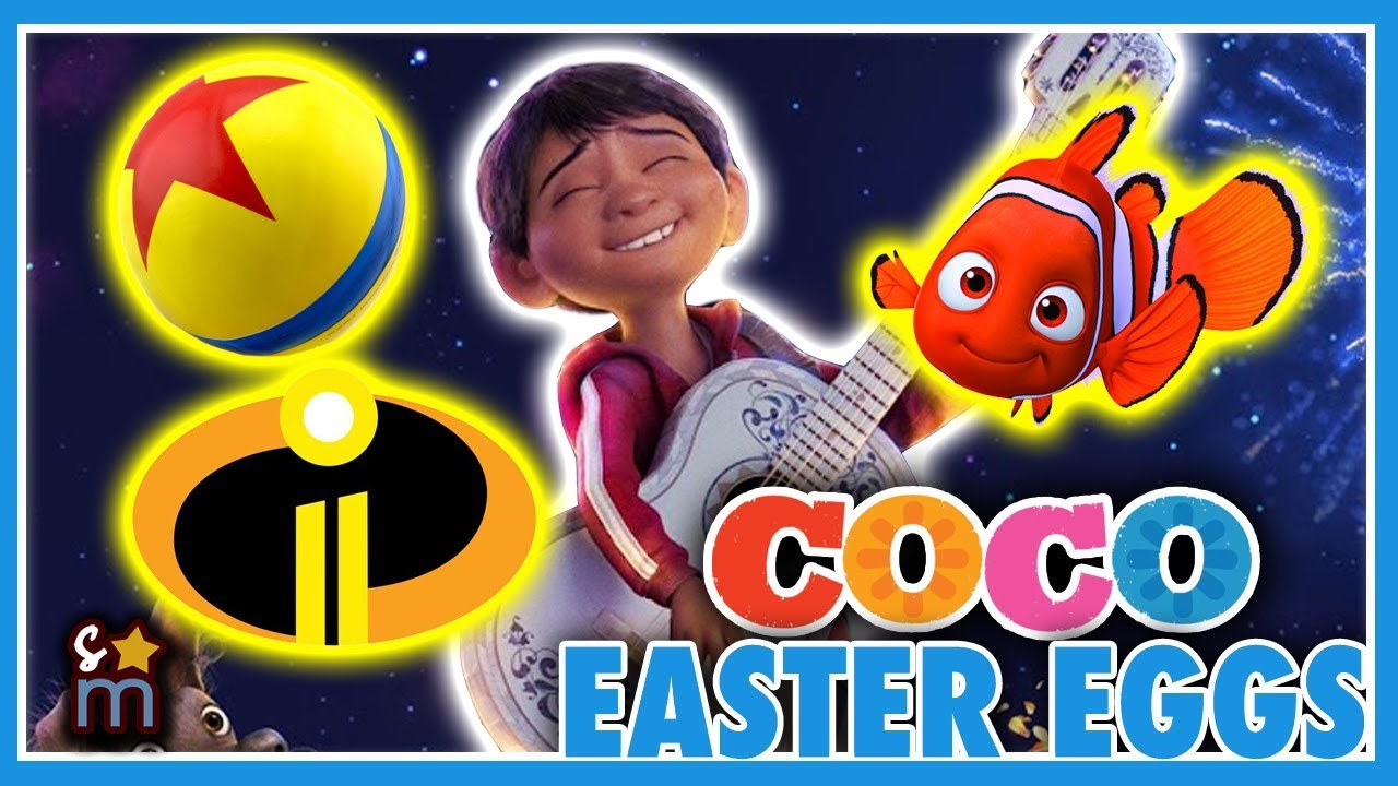13 Disney Pixar S Coco Movie Easter Eggs Revealed Nemo