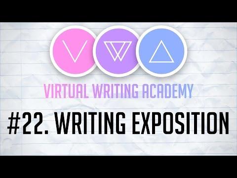 Writing Exposition - Virtual Writing Academy #22