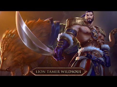 Heroes of Newerth Avatar Spotlight - Lion Tamer Wildsoul