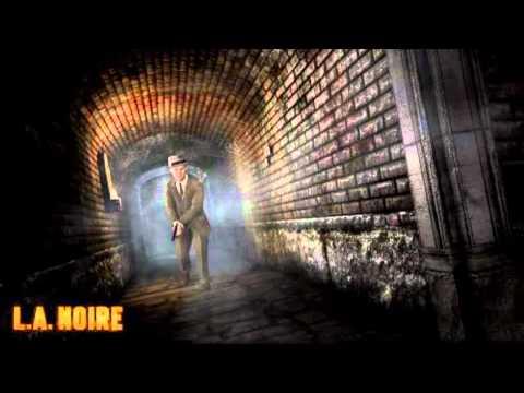 Unreleased L.A. Noire Soundtrack - Driving To a Crime Scene