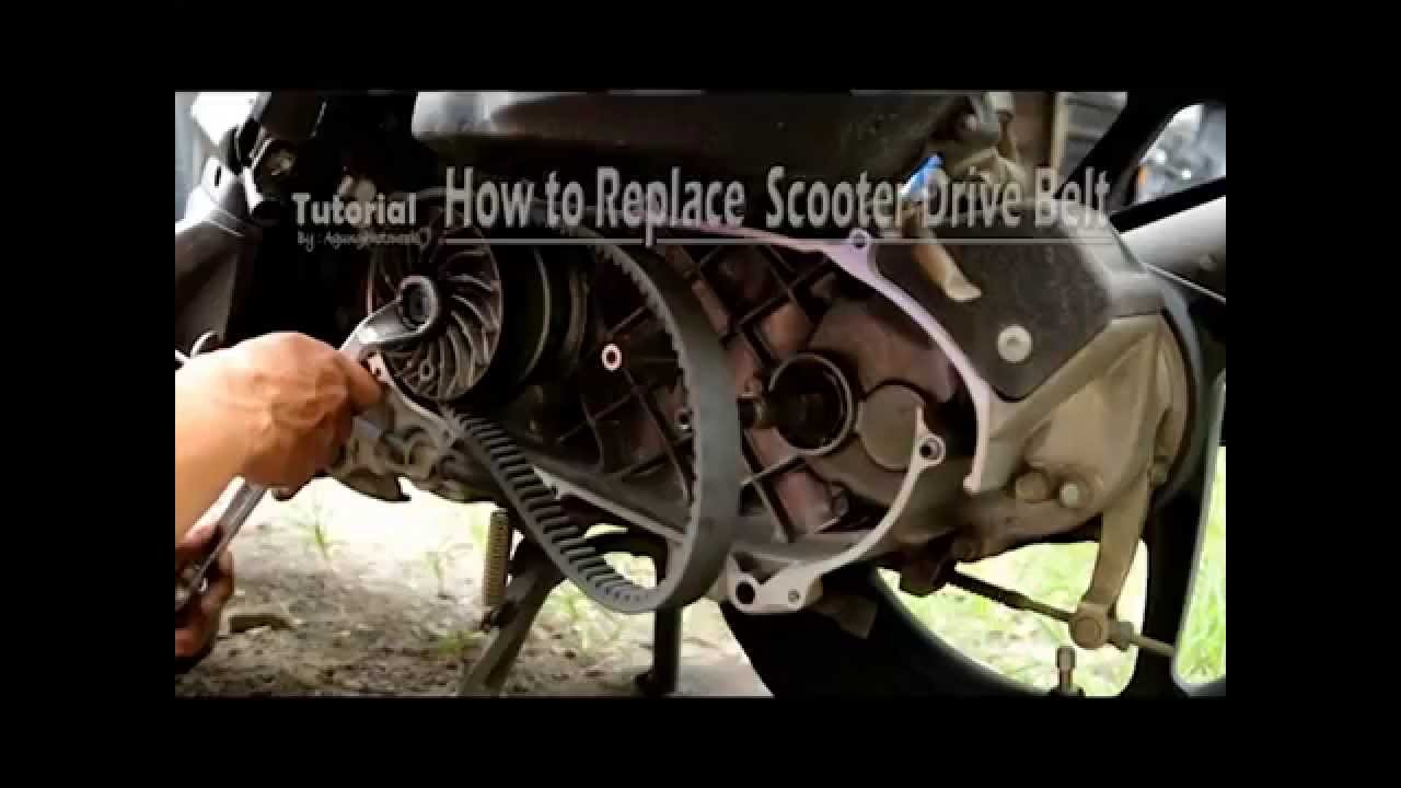 How To Replace Scooter Drive Belt