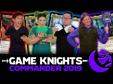 Commander 2019 with The Professor & Ladee Danger l Game Knights #29 l Magic the Gathering Gameplay