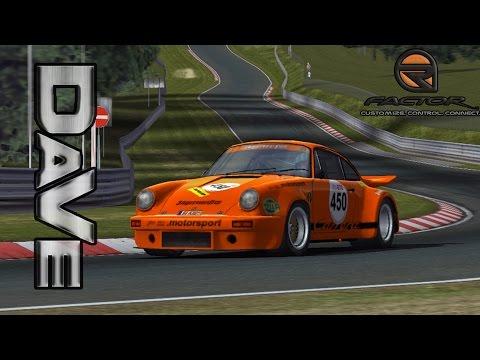 [rFactor] Porsche 911 RSR - Nurburgring Attack