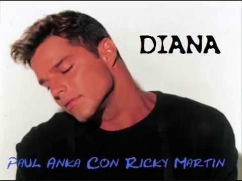 Ricky Martin Ft. Paul Anka - Diana