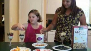 Reagan's Awesome Cooking: Fruit & Yogurt Parfait