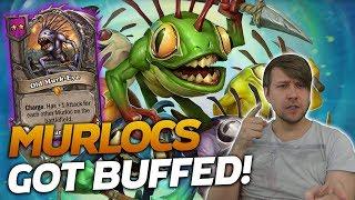 NEW PATCH! Murlocs got BUFFED! | Hearthstone Battlegrounds